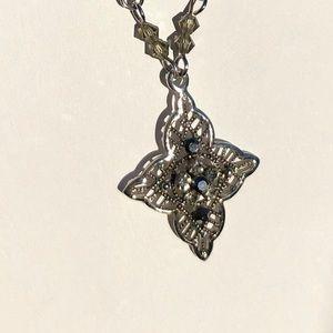 Jewelry - Marcasite Filigree Necklace